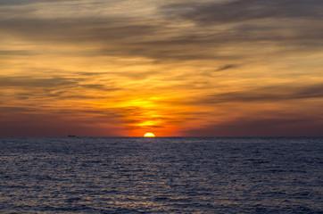 admirable sunset