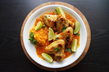 Chicken Wings mit Chilli und Limetten