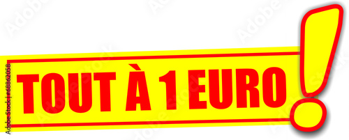 tiquette tout 1 euro fichier vectoriel libre de droits sur la banque d 39 images. Black Bedroom Furniture Sets. Home Design Ideas