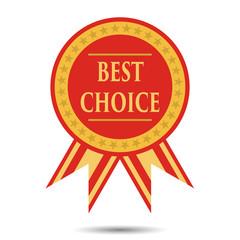 Best choice medal