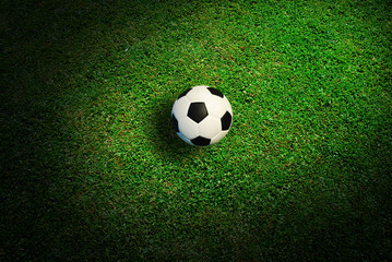 Soccer ball football sport for play game