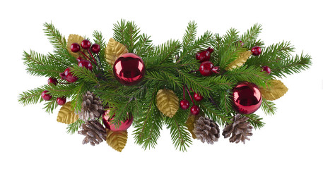 Christmas and new year decoration element for design