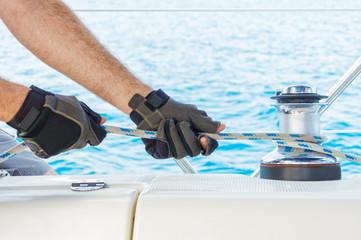 Spoed Foto op Canvas Zeilen Sailing