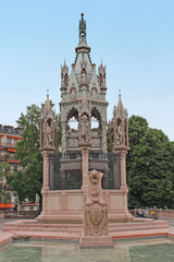 Genève, monument Brunswick