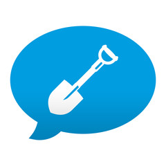 Etiqueta app comentario simbolo pala