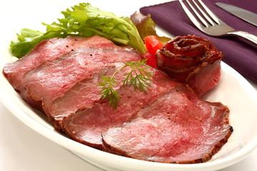 ローストビーフ 肉料理