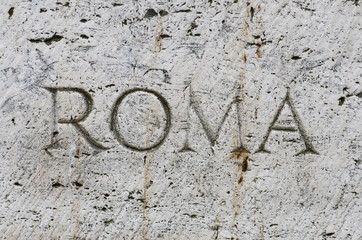 Rome - Inscription