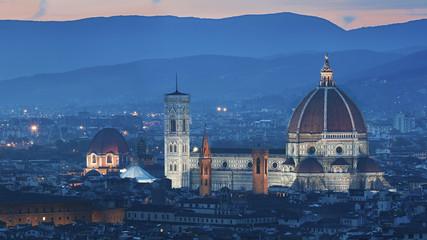 Fototapete - Duomo di Firenze, Tuscany, Italy.