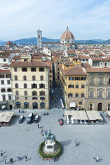 Fototapete - Aerial view of Florence, Italy