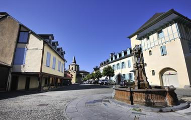 village of Saint Savin