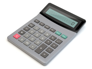Calculator - render 3D