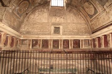 Badehaus in Pompeji