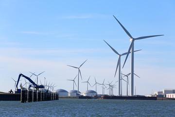 Windturbinen in Eemshaven