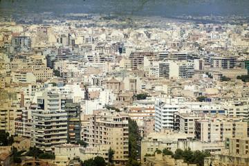 Palma de Mallorca cityscape - Stock Image