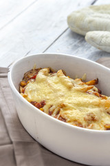 Chilli Cheese fries caserole