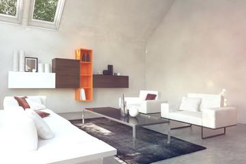 Beautiful White Inspired Living Room