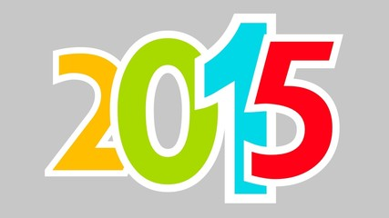 2015 color with grey background