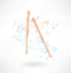 drumsticks grunge icon