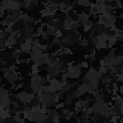 Seamless Camouflage Pattern Military Background