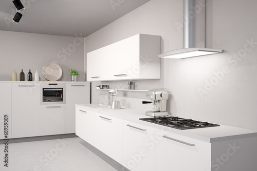 wei e neue k che stockfotos und lizenzfreie bilder auf bild 68959809. Black Bedroom Furniture Sets. Home Design Ideas