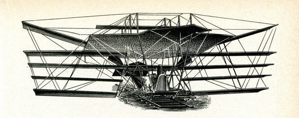 Maxim's flying machine, 1894