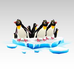 cartoon penguins 1