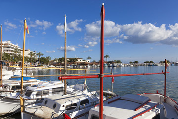 Boote in Port d' Alcudia