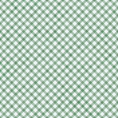 Light Green Gingham Pattern Repeat Background