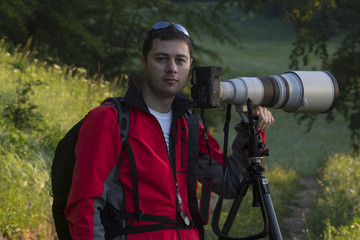 Nature and landscape photographer