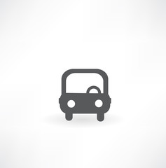 Fototapete - automobile icon