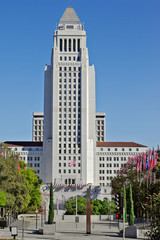 Los Angeles City Hall, Los Angeles, California.