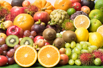 Fresh Fruit Grouped