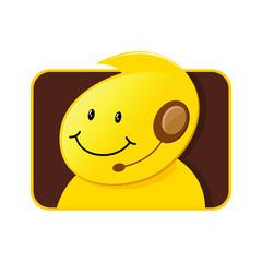 Customer Service Icon Male