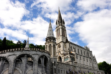 Sanctuary of Lourdes, France