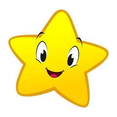 Cartoon Little Star