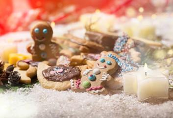 Lebkuchen selbst gebacken Weihnachten