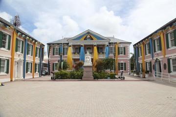 Centre ville de Nassau Bahamas