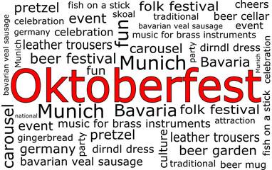 Oktoberfest Wordcloud