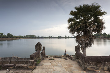 Königliche Bad Srah Srang bei Angkor Wat