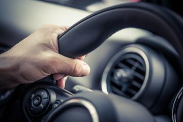 Steering hand