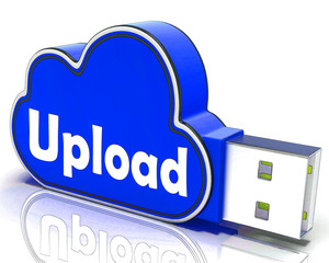Upload Memory Shows Uploading Files To Cloud