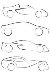An Illustrated outline of Cars