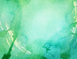 Watercolor grunge background