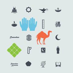 set of web icons