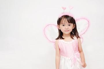 The Girl in fairy dress