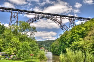 Sommer an der Müngstener Brücke