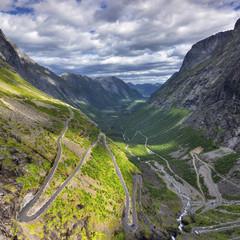 Wall Mural - Piękny krajobraz Norweski