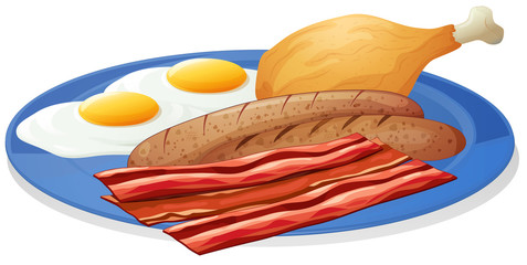 Eggs and bacons