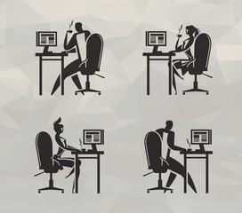 Office. Vector format
