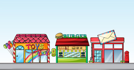 Different stores